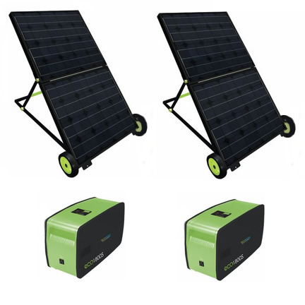 1800W Solar Power Generator<br>Set of 2<br> Free Shipping!!!