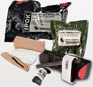 Individual Police Officer Trauma Kit (IPOK)