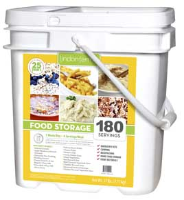 180 Serving Emergency Food<br>2000 Calories per Day!<br>Free Shipping!!!