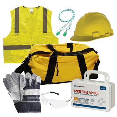 PPE Compliant Kit with First Aid Kit