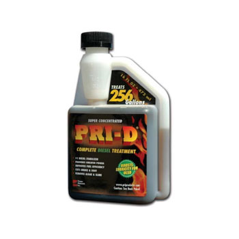PRI-D Diesel Fuel Treatment (Case of 12 units, 16 oz per unit)