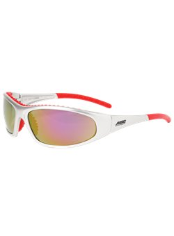 Flashfire Red Mirror Glasses