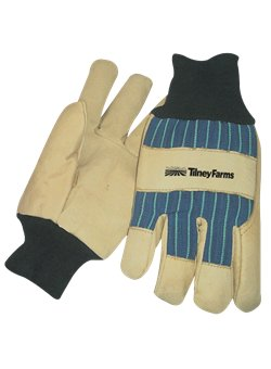 Thinsulate Lined Pigskin Leather Palm Glove<br>Blue