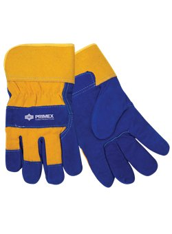 Insulated Cowhide Glove<br>Yellow