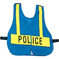 POLICE Front Closure Style Vest for Law Enforcement
