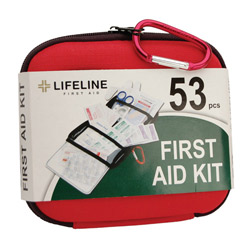 53 piece EVA first aid kit