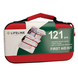 121 piece EVA first aid kit