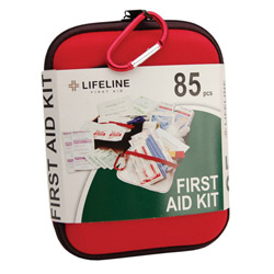 85 piece EVA first aid kit