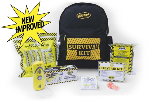 1 Person Economy Emergency Backpack Kit