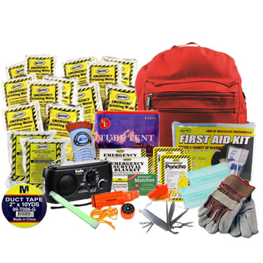 2 Person Advanced Emergency Kit