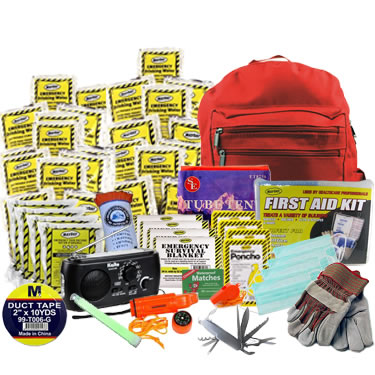 4 Person Advanced Emergency Kit