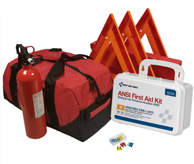 Essential All-in-One DOT OSHA ANSI Compliant Kit