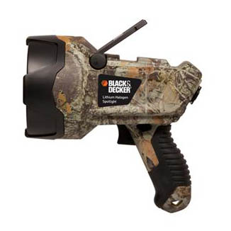 Lithium Ion Halogen Spotlight - Camo