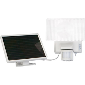 Solar-Powered 30Watt Security Floodlight