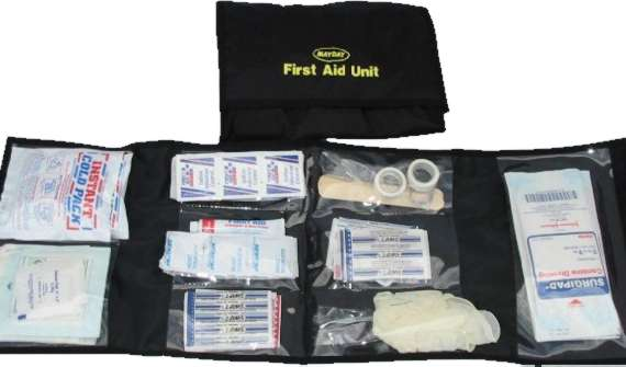 124 pieces Trauma Kit