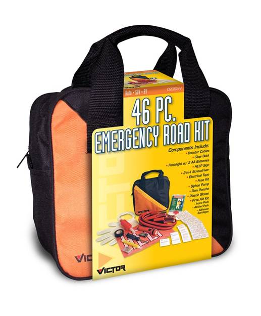 46 Pieces SAFETY EMERGENCY KIT